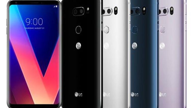 Merakla beklenen LG V30 resmen tanıtıldı! İşte tüm özellikleri!