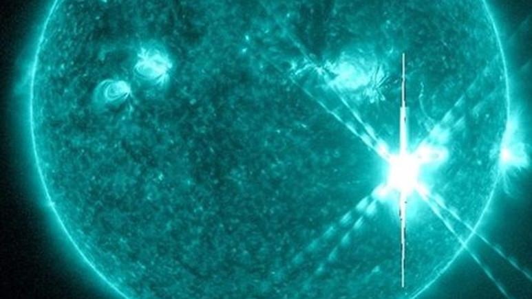 Son 12 yılın en büyük Güneş patlaması yaşandı