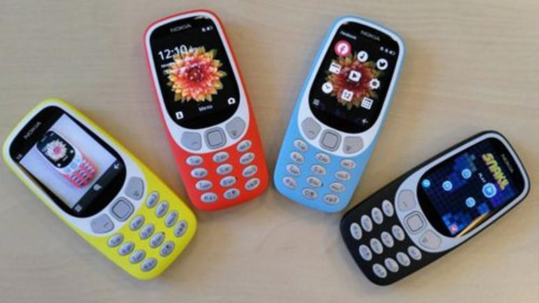 Yeni Nokia 3310 3G resmen tanıtıldı