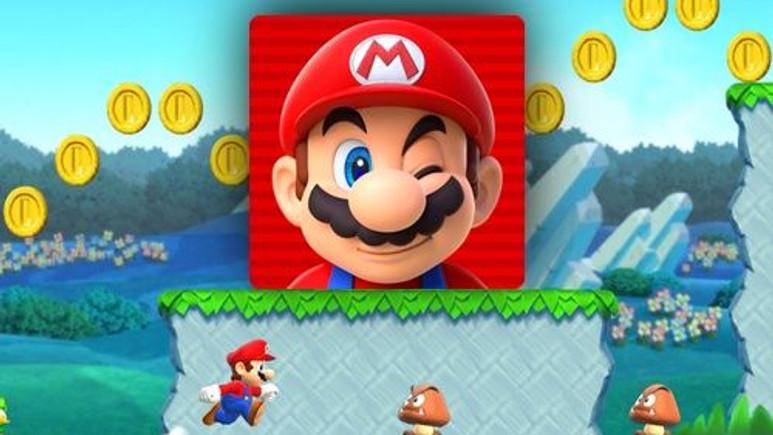 Super Mario artık göz kırpıyor!