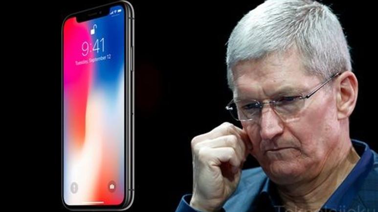 iPhone X'in satış tahminleri düştü!