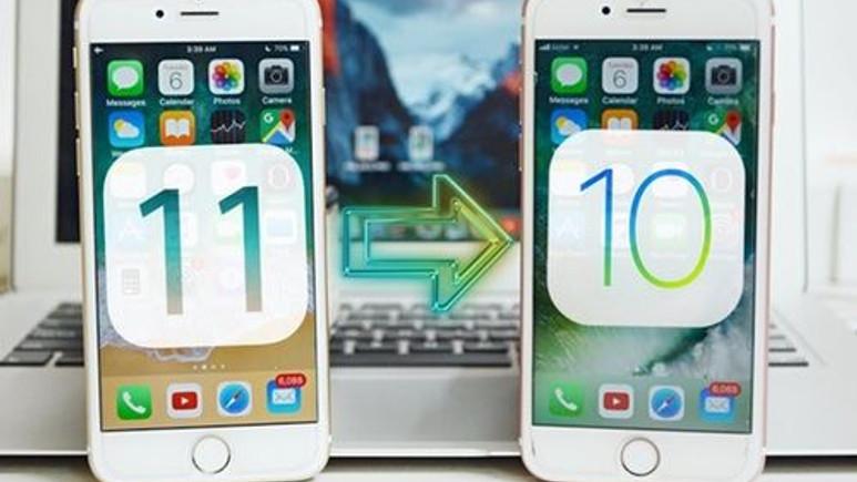 iOS 11'den geri dönüş artık imkansız!
