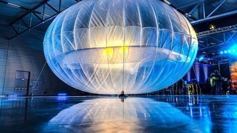 Balonla internet erişimi projesinde sevindiren gelişme!