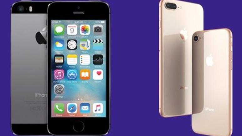 iPhone 5s ile iPhone 8 işlemcisi karşı karşıya!