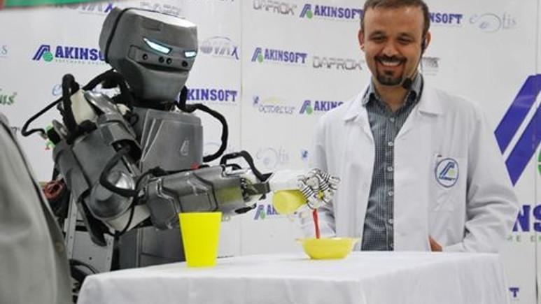 Konya'da her hafta bir robot üretiliyor!
