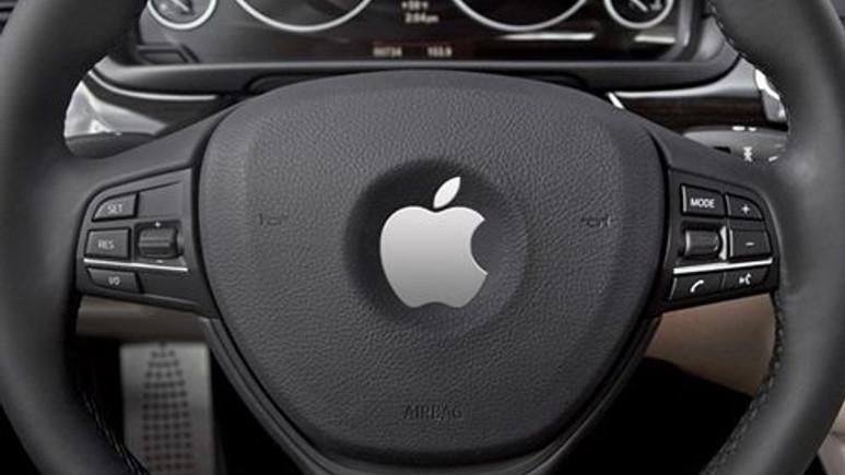 Apple'ın sürücüsüz otomobili göründü!