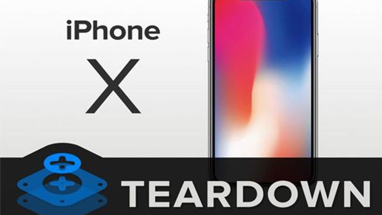 iPhone X parçalara ayrıldı (Video)