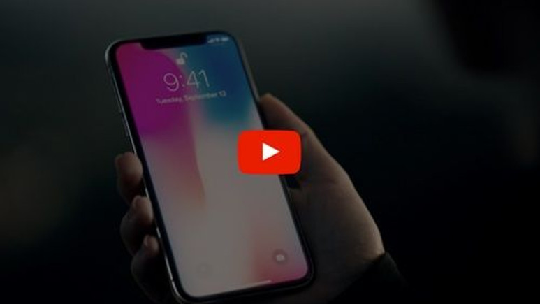 YouTube'dan iPhone X'e jest!