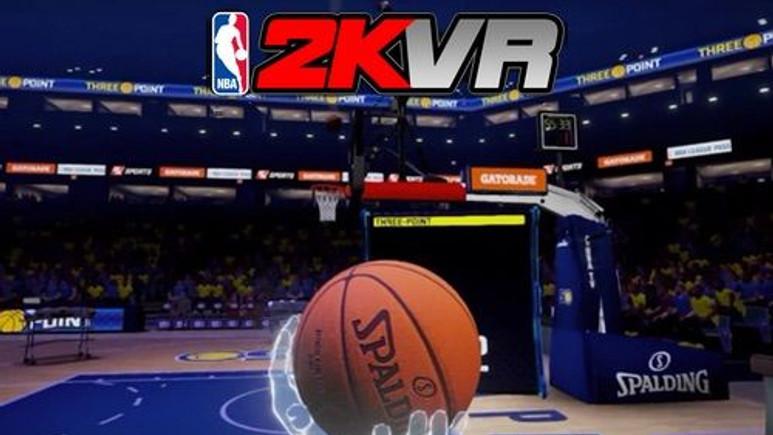 NBA 2KVR ile basketbol heyecanı VR gözlüklere geldi!