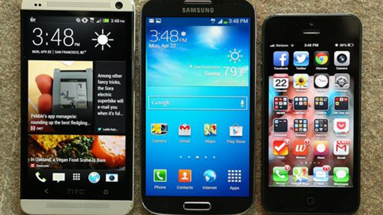 HTC One M8 vs iPhone 5S vs Galaxy S5 düşürme testi! Video
