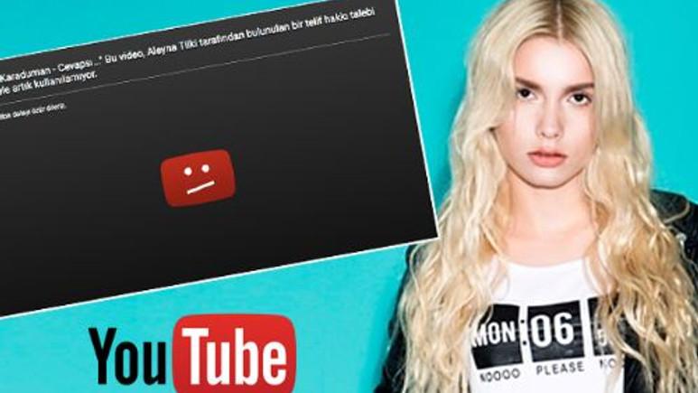 Aleyna Tilki - Cevapsız Çınlama YouTube'dan neden telif yedi?