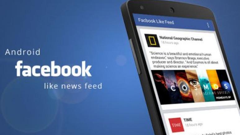 Facebook Android uygulaması yeni bir güncelleme aldı