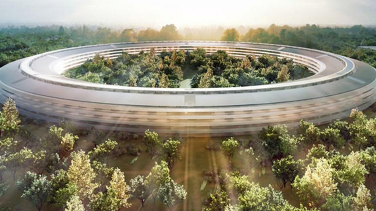 Apple'ın Uzay Gemisi kampüsünün planı sızdı!
