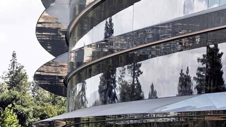 Apple'ın gelecekteki kampüsünden büyülü görüntüleri