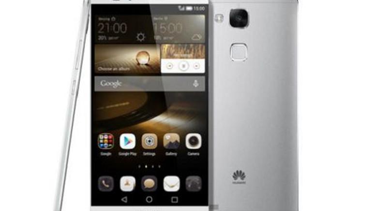Huawei Ascend Mate 7 kutu içeriği