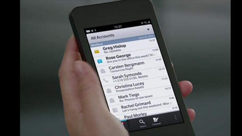 BlackBerry 10'un batarya özellikleri sızdırıldı!