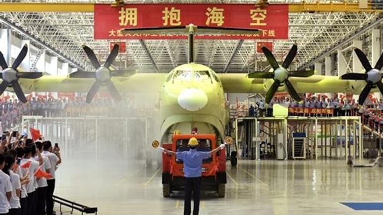 Dünyanın en büyük deniz uçağı üretildi