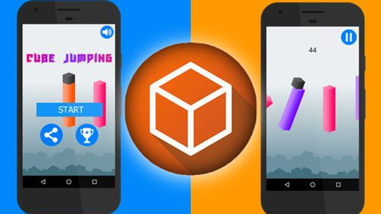 Yerli mobil oyun Cube Jumping bağımlılık yapıyor!