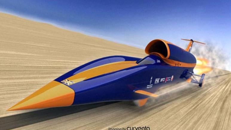 Bu araç mermiden bile hızlı!