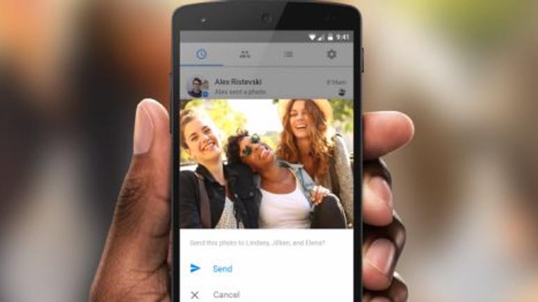 Facebook Messenger'a Photo Magic ile Yüz Tanıma ve Paylaşma Özelliği Geliyor