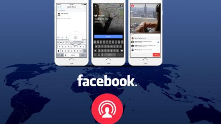 Facebook Live önemli bir güncelleme aldı