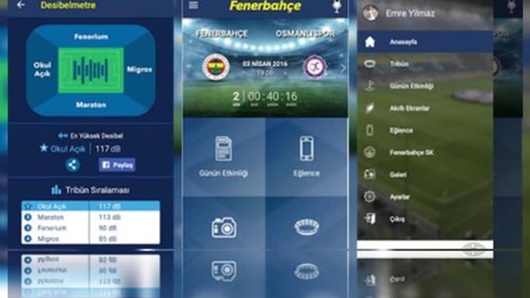 Fenerbahçe - Beşiktaş derbisine özel uygulama!