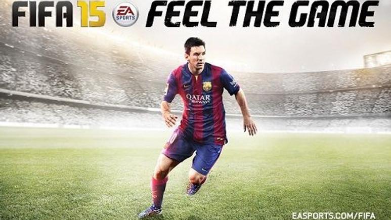 "Futbol oyunu ""FIFA 15"" dünya ile aynı anda Playstore'da"
