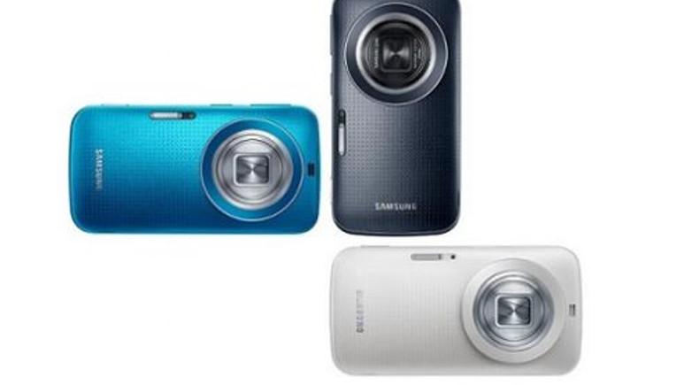 Samsung Galaxy K Zoom Avrupa'ya uçuruyor