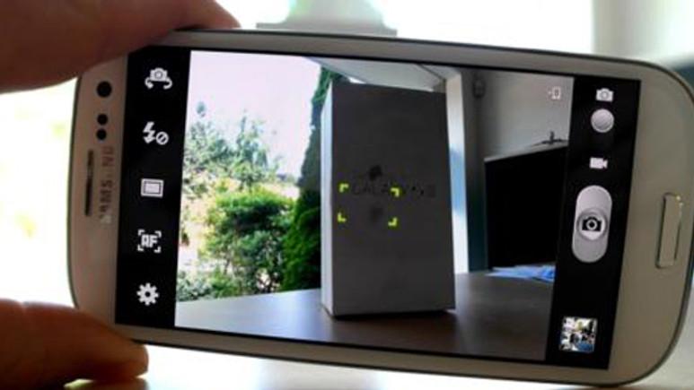 Samsung Galaxy S III kamerası diğerlerine karşı! (test video)