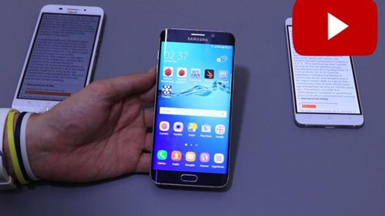 Samsung Galaxy S6 Edge+ Marsmallow vs Lollipop Kıyaslama Videosu