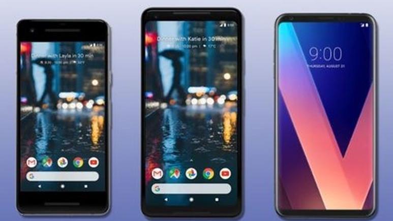 Google Pixel 2, Pixel 2 XL ve LG V30 karşılaştırması!