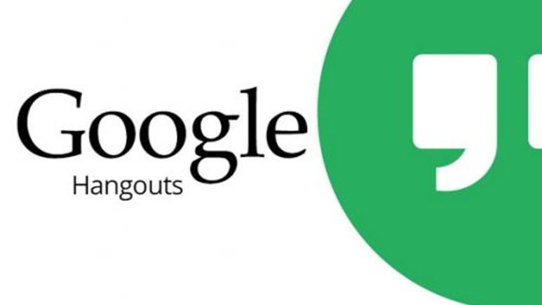 Google Hangouts yeni bir güncelleme aldı