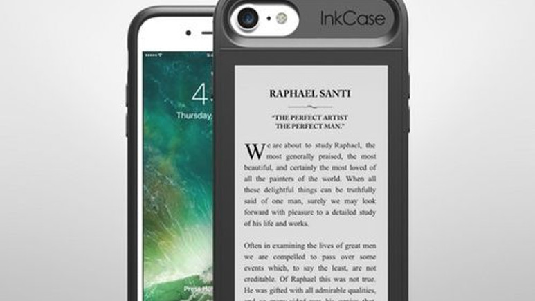 iPhone'a ikinci ekran sunan Oaxis InkCase Türkiye'de!