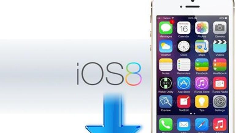 Yüzde 50 kullanıcı iOS 8'i benimsedi