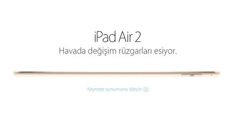 Apple, iPad Air 2 için yeni bir reklam filmi yayınladı [Video]