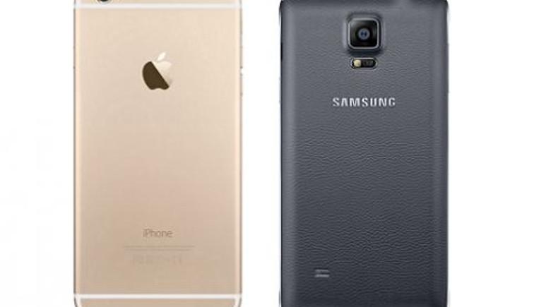 iPhone 6 Plus Galaxy Note 4'ü geçti