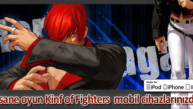 Efsane oyun 'King of Fighters i 2012' iPad, iPod ve iPhone'larınızda!