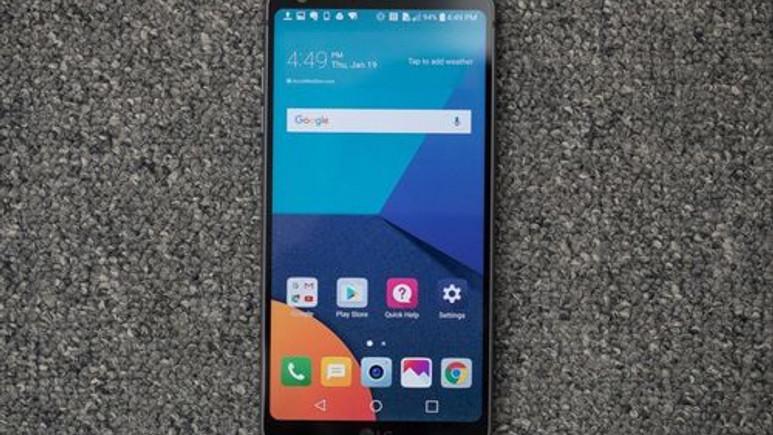 LG'nin 2018 model amiral gemisi LG G7 hakkında ilk bilgi geldi