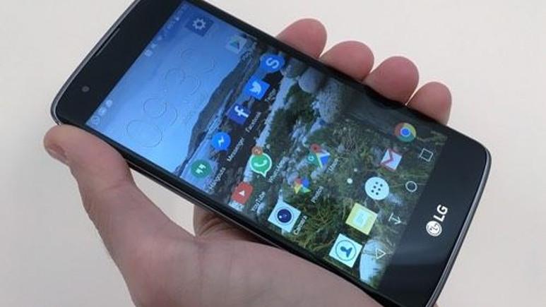LG K8 için Android Nougat güncellemesi yayınlandı!