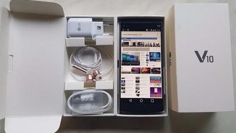 LG V10 Kutu Açılış Videosu