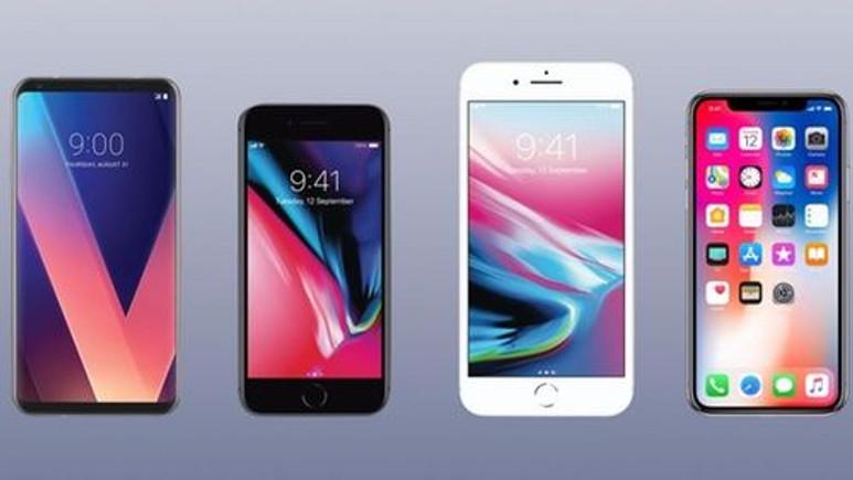 LG V30, iPhone X, iPhone 8 ve iPhone 8 Plus karşılaştırması!