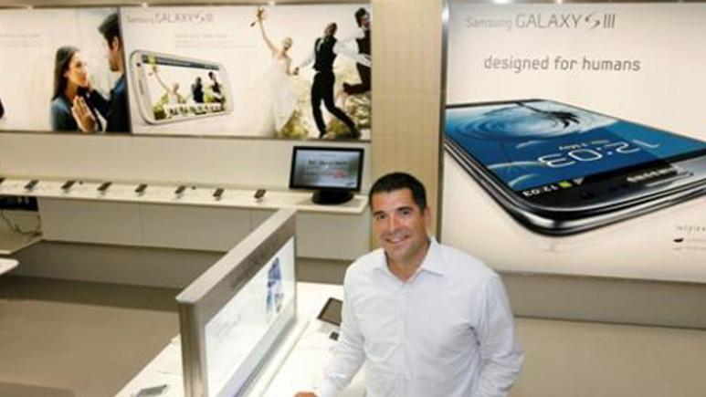 Samsung yeni mağazasında Apple'dan esinlenmiş!