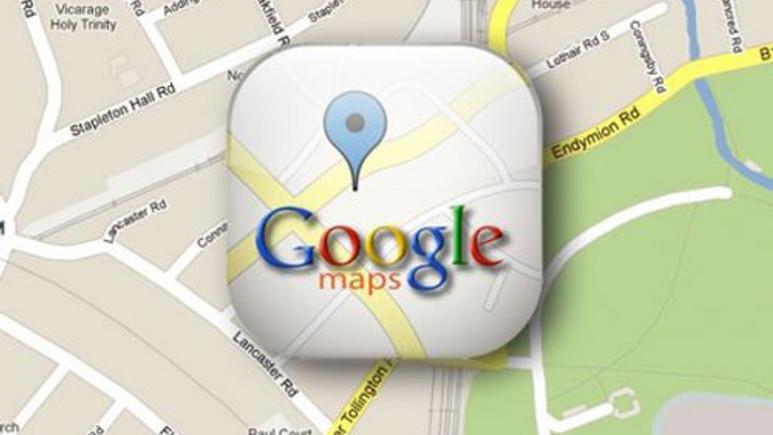 iOS için Google Maps yasal takip altında