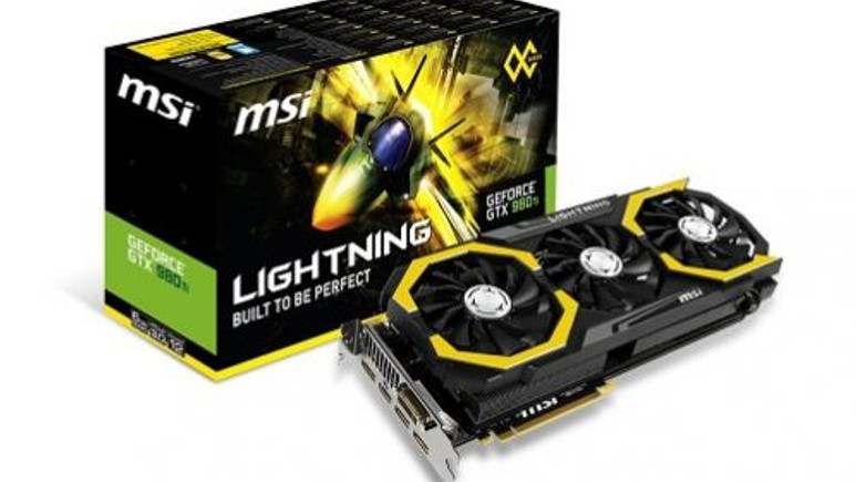 MSI GTX 980Ti Lightning ile saat hızınızı kendiniz belirleyin!