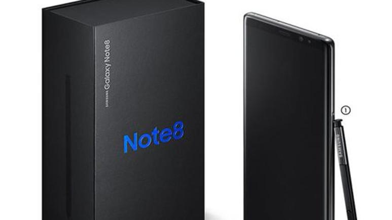 Samsung Galaxy Note 8 kutusunda neler var?