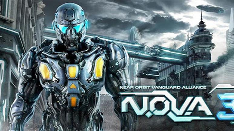 N.O.V.A. 3 Android'de!