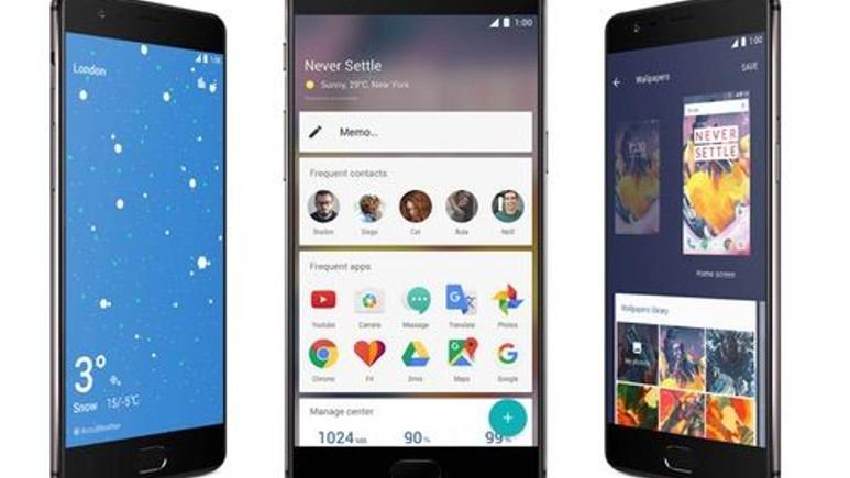 6GB RAM'li OnePlus 3T tanıtıldı! İşte OnePlus 3T özellikleri!