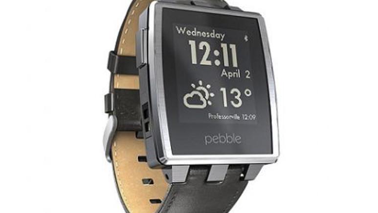 Akıllı saat Pebble'da 50 dolarlık indirim başladı