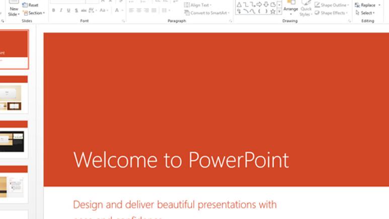PowerPoint 2013'e ilk bakış!