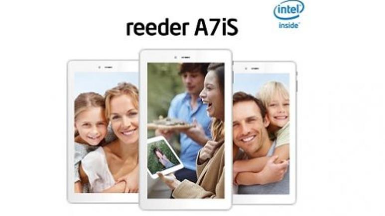 Reeder'dan 3G'li İntel işlemcili 299 TL'lik tablet A7iS